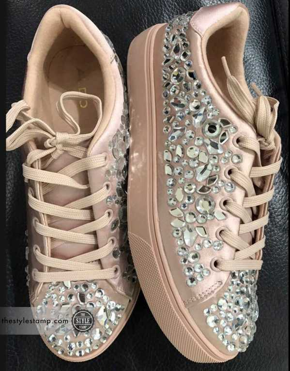 Aldo Light Pink Sneakers, INR 9,000