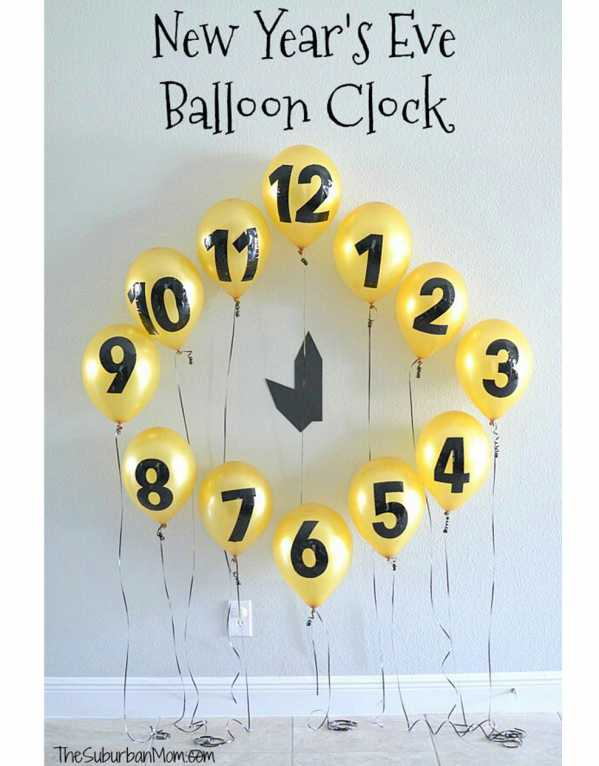 Countdown Balloon Clock