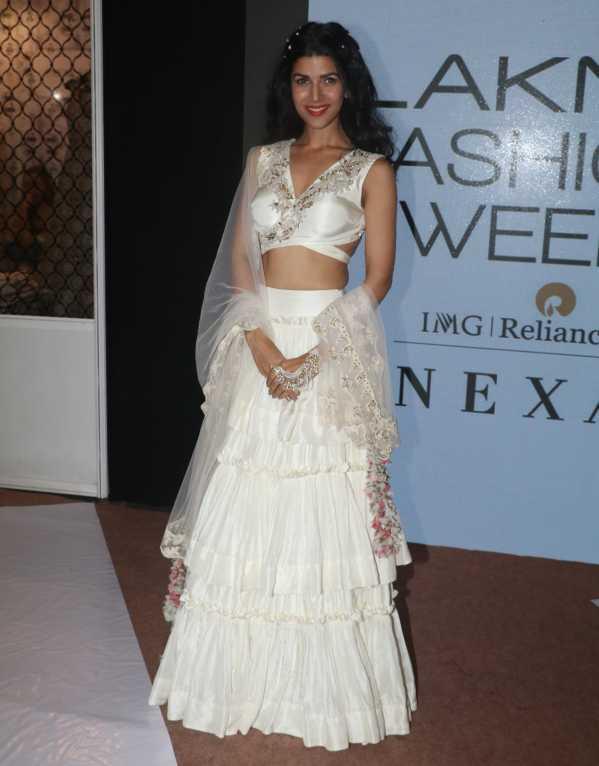 Nimrit Kaur for Pooja Shroff