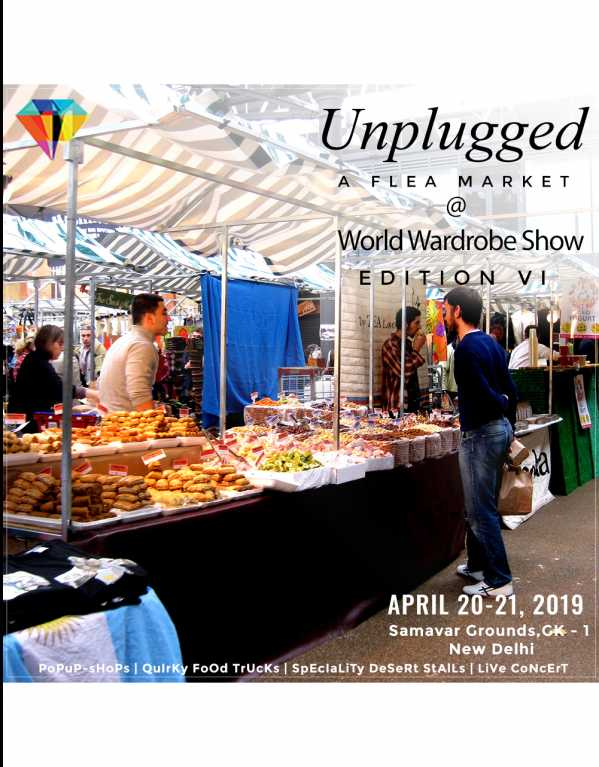 Unplugged - A Flea Market by World Wardrobe Show