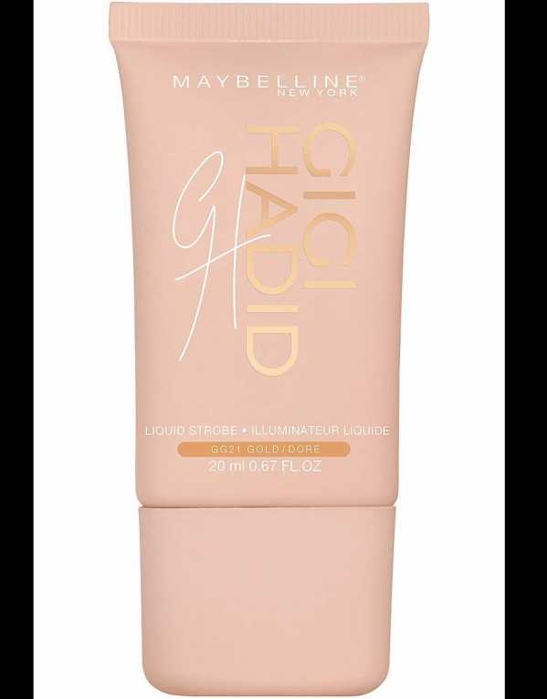 5) Maybelline New York Gigi Hadid Strobe Cream - Gold