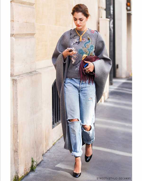 11 Ways to Rock Your Boyfriend Jeans Even in Winter