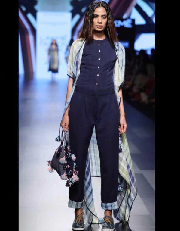 Sayantan Sarkar at Lakme Fashion Week SR'17