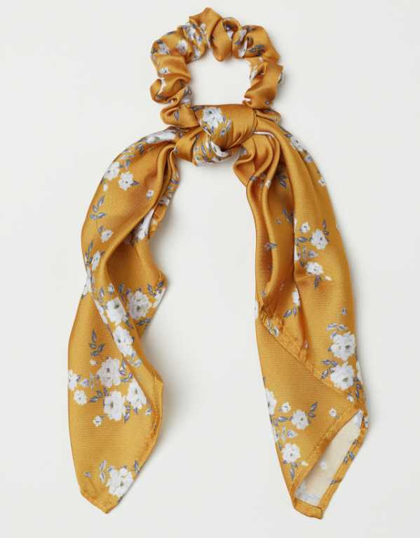 Scrunchie with a scarf tie, H&M; Rs. 499