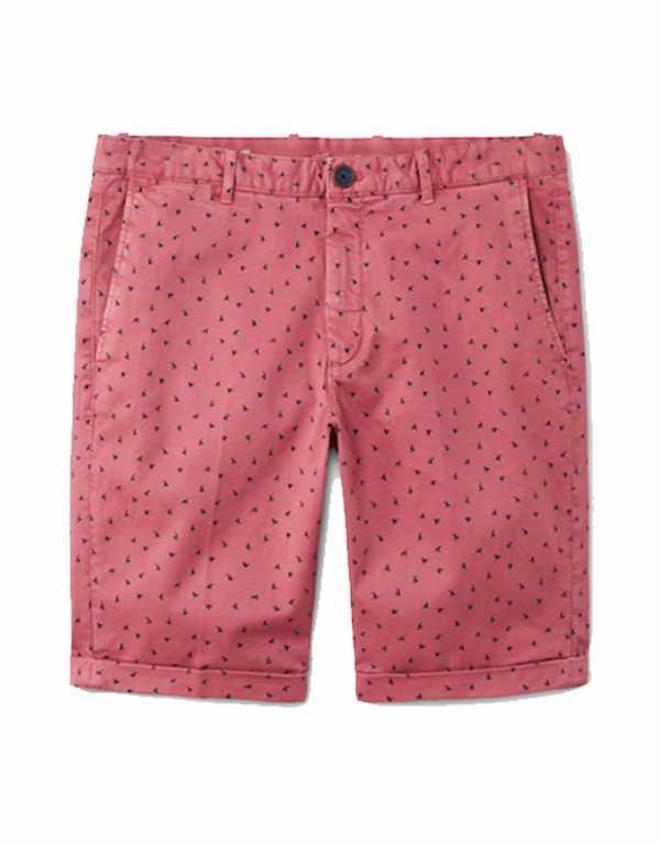 Printed Five Pocket Bermuda Shorts, Mango, Rs.3,490