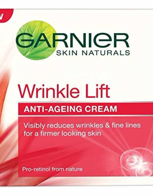 5) Garnier Skin Naturals Wrinkle Lift Anti Ageing Cream
