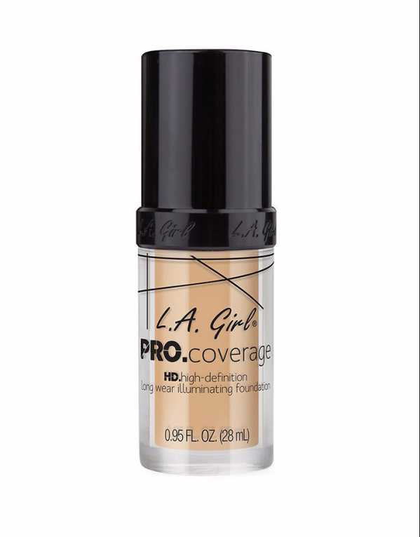 Chandni Singh recommends the L.A Girl Pro Coverage Illuminating HD Liquid Foundation; Rs 1250