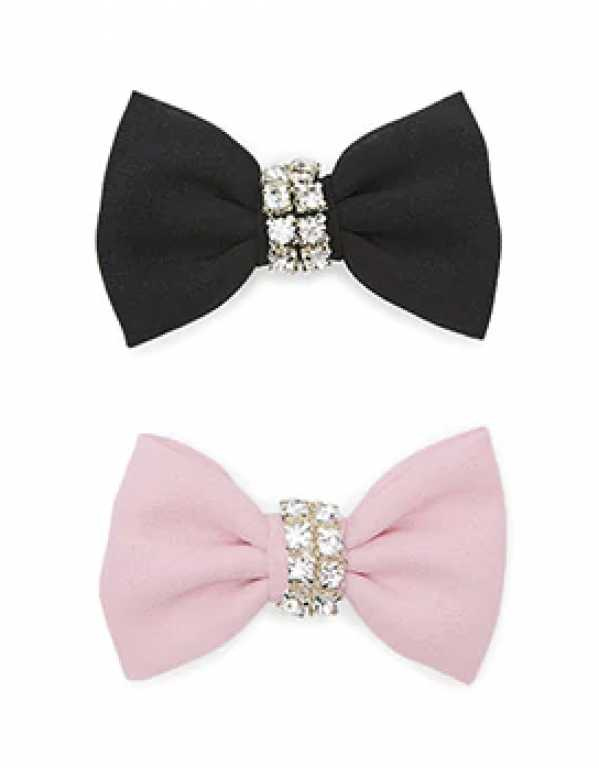 Rhinestone Bow Hair Clip, Forever 21; Rs. 199
