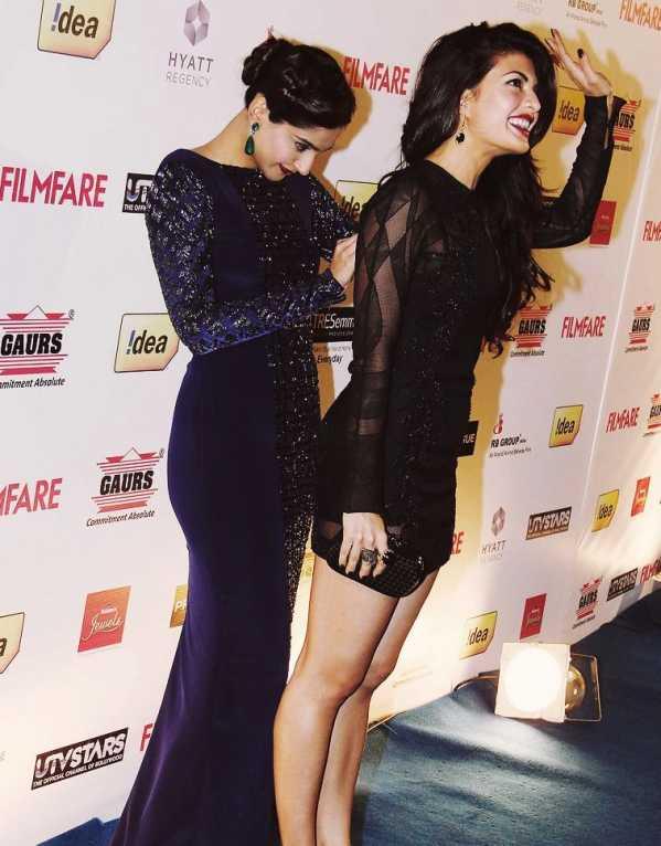Sonam Kapoor & Jacqueline Fernandez