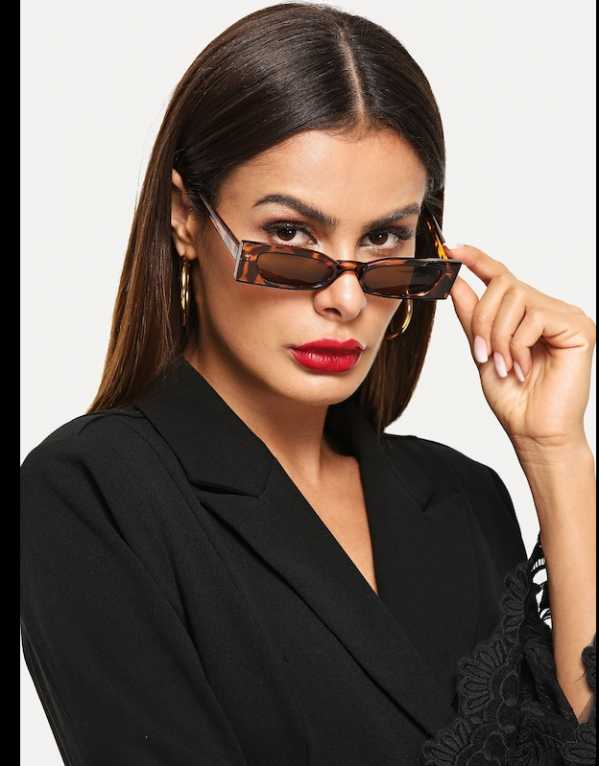 6. Leopard Frame Sunglasses