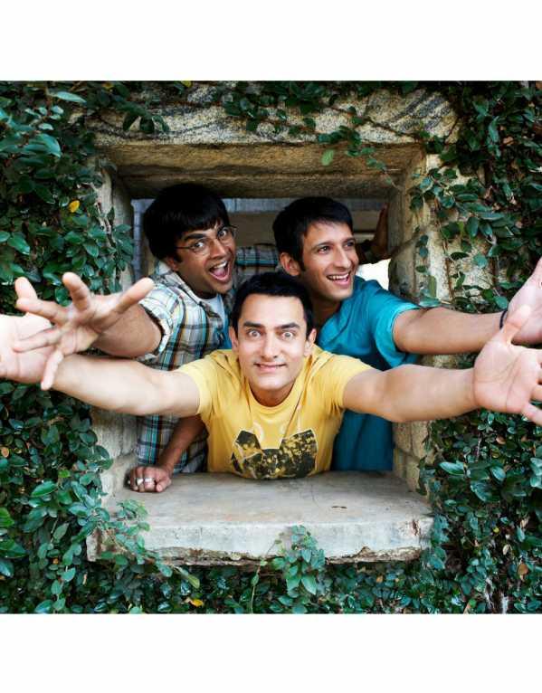 Rancho, Raju & Farhan from 3 Idiots