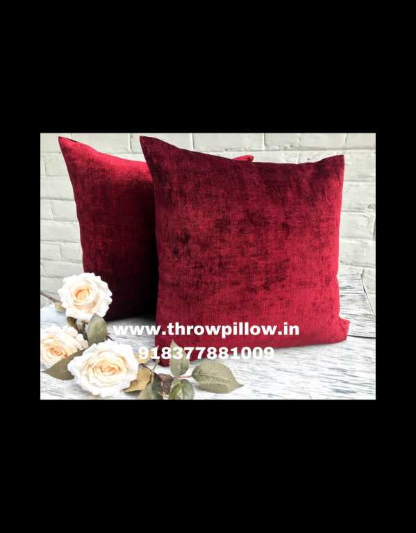 Luxury Red Rose Throw Pillow