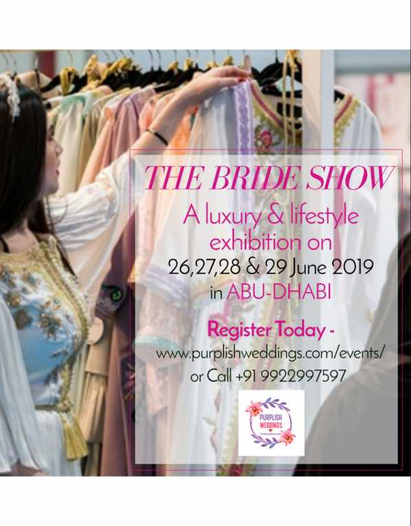 THE BRIDE SHOW ABU-DHABI 2019