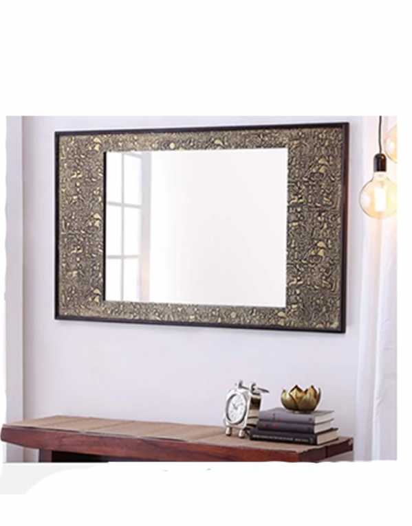 Baroque Wall Mirror, DHI, Rs. 8,999
