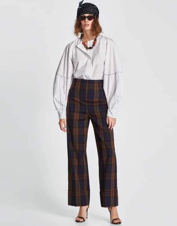 Checked Trousers, Zara. Rs. 3490