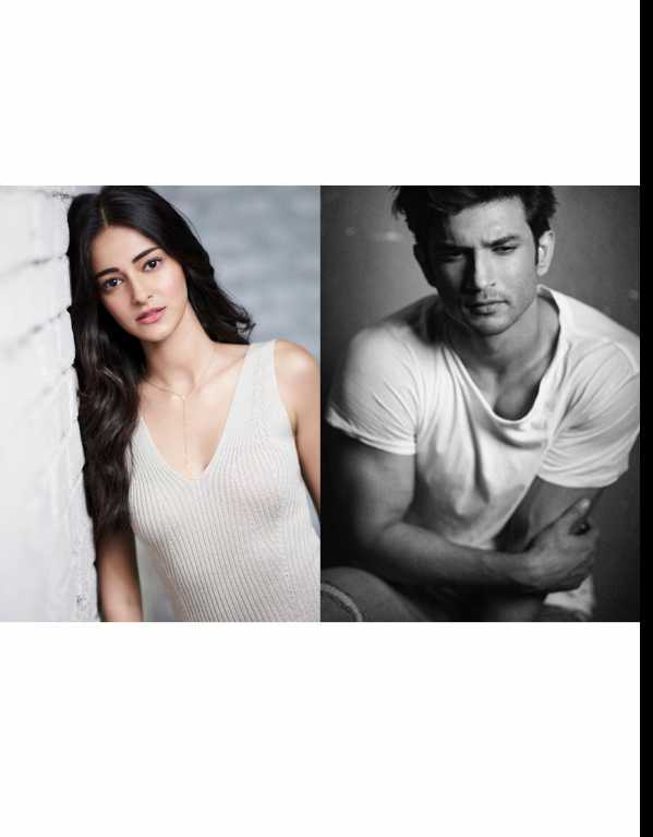 4. Ananya Pandey and Sushant Singh Rajput