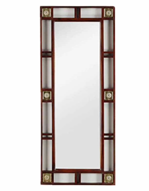 Moshe Rectangular Wall Mirror, DHI, Rs. 6,799
