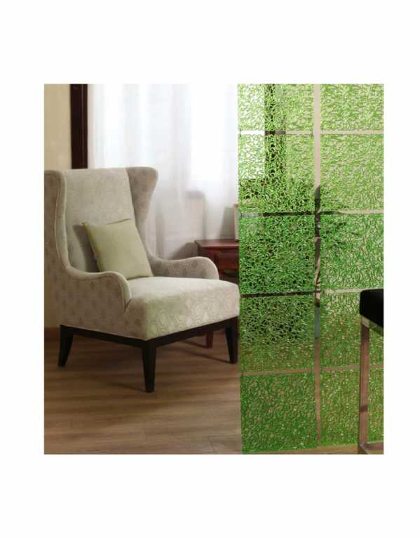 Plexi Glass Room Divider, Pepperfry, Rs. 2699