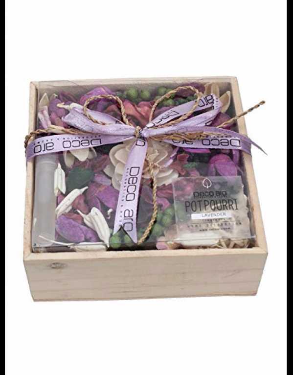 3) DECO ARO Potpourri Lavender Fragrance