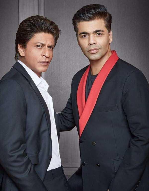 Shahrukh Khan & Karan Johar