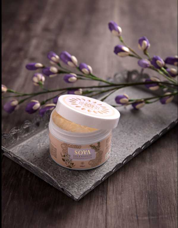 SOVA YAVA & ROSEMARY INTENSE REPAIR HAIR MASK