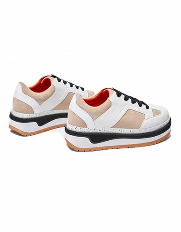 Contrasting Flatform Sneakers, Zara, Rs. 3,990