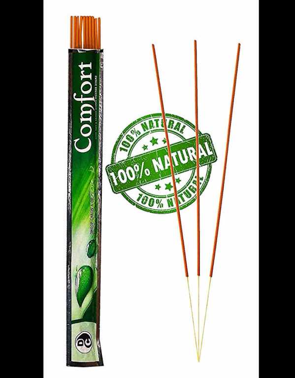 4) Comfort Camphor & Lemon Grass Incense Sticks