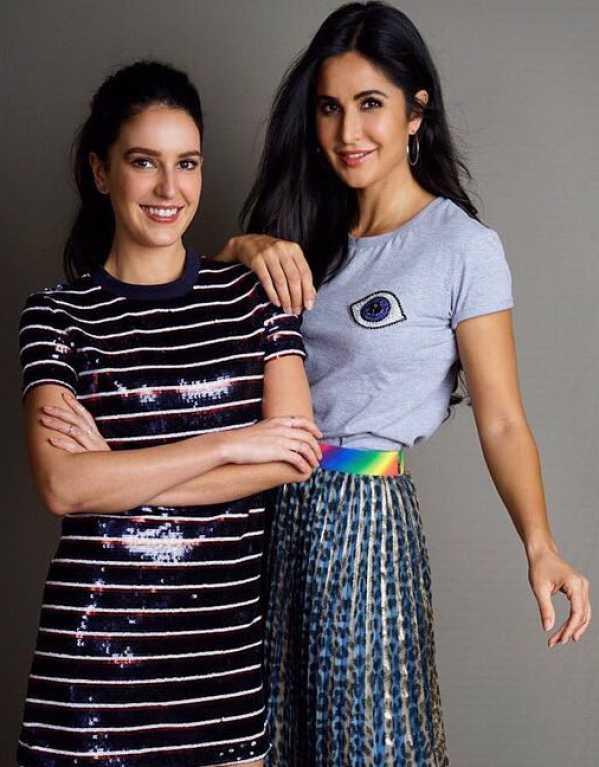 4.   Katrina + Isabelle Kaif