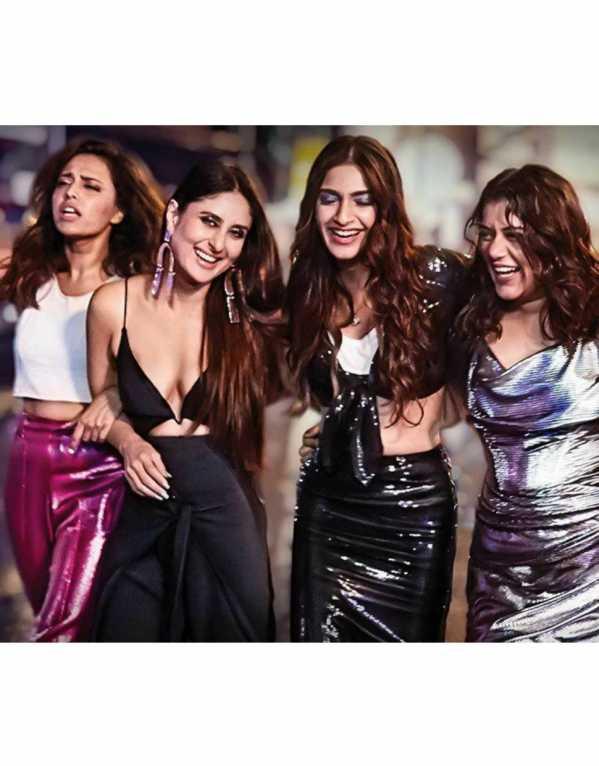 Kalindi, Avni, Sakshi & Meera from Veere Di Wedding