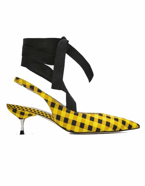 Slingback Shoes With Tied Bow, Zara, Rs. 2890
