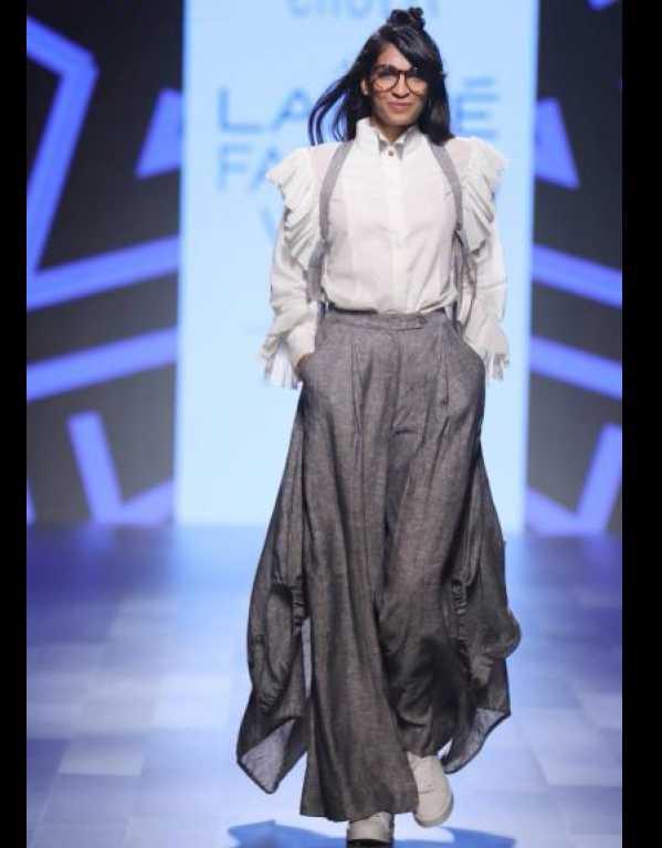 Chola at Lakme Fashion Week SR'17