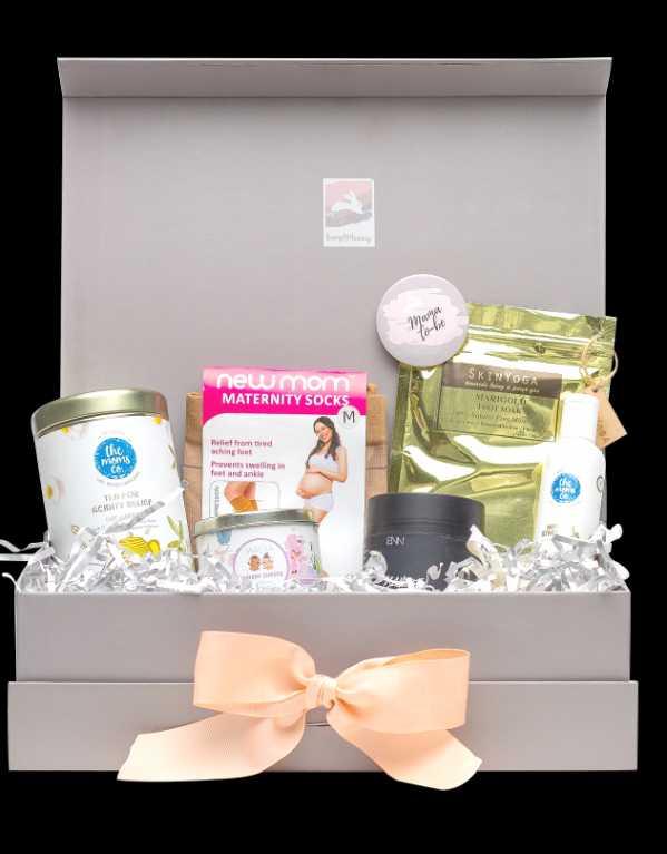 Bump to Bunny Trimester 3 Pregnancy Gift Box