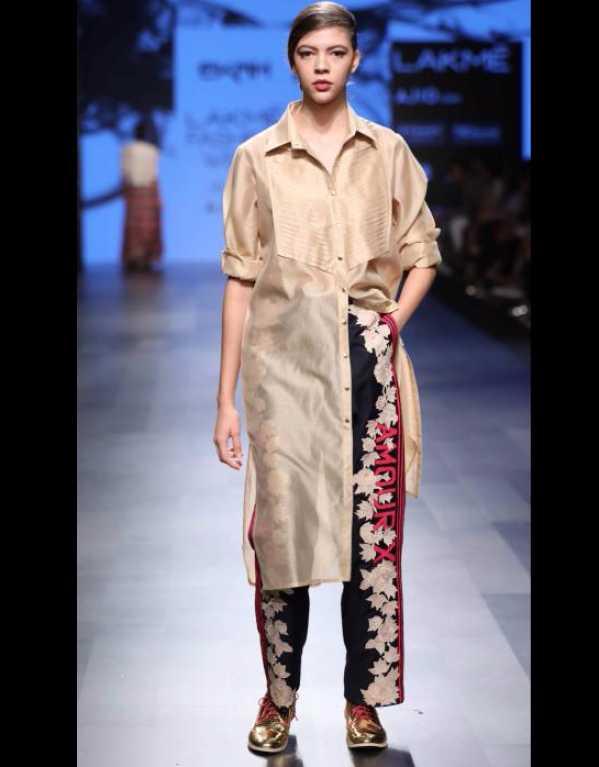 Ekam at Lakme Fashion Week SR'17