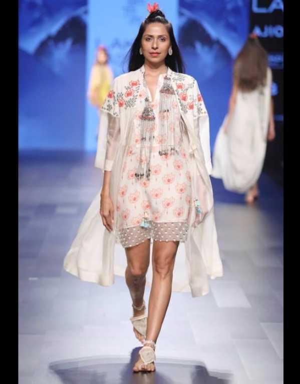 MadSam TinZin at Lakme Fashion Week SR'17
