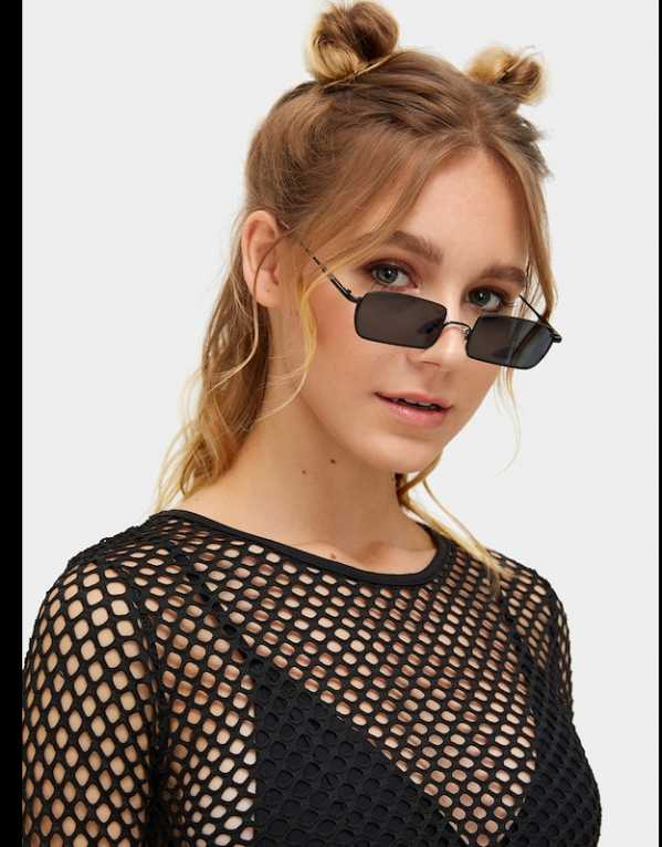 3. Rectangle Frame Sunglasses