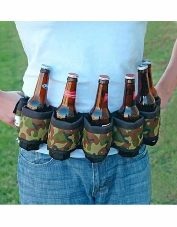 For the alcohol lover, get a beer belt to keep those pints handy and secure, whenever, wherever!