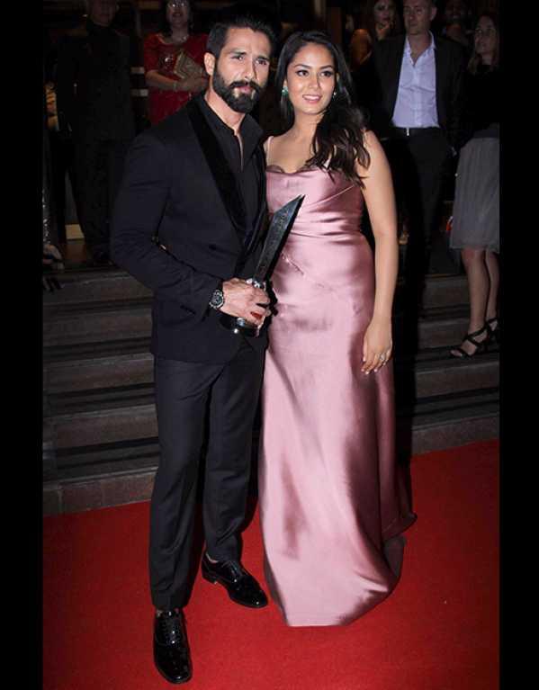 Shahid Kapoor & Mira Rajput