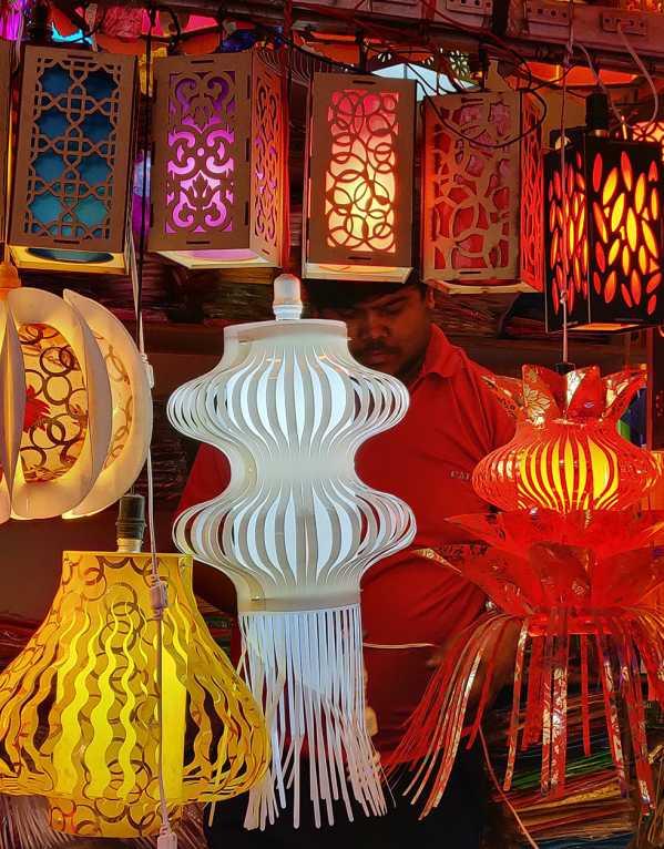 This Delhi Lights Market is a Must-Visit for Diwali