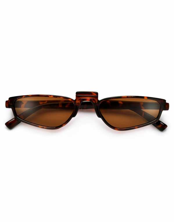 Super Slim Distinctive High Nose Bridge Sunnies, SunglassSpot.com, Rs. 325
