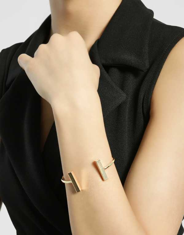 3. Double Bar Cuff Bracelet