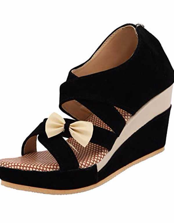 5) Opt for Dark Coloured Wedges!