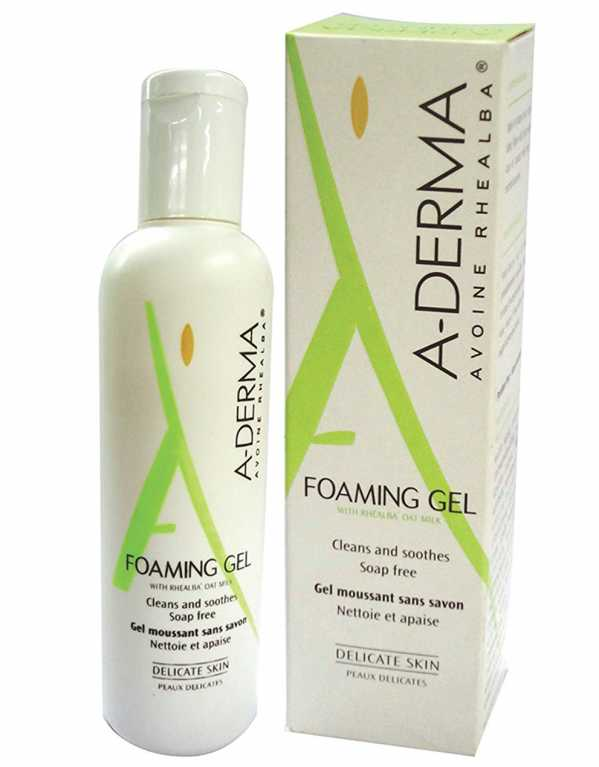 Dr. Kiran Lohia, Celebrity Dermatologist, recommends the A-Derma Foaming Gel