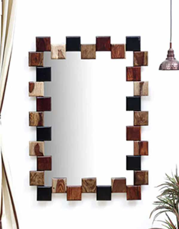 Yosemite Rectangular Wall Mirror, Woodsworth, Rs.13,699